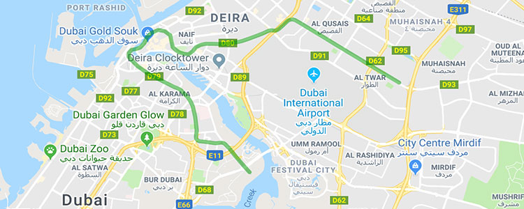 Dubai Metro | Map, Fare, Timings and Stations Detail | Best Tours on
