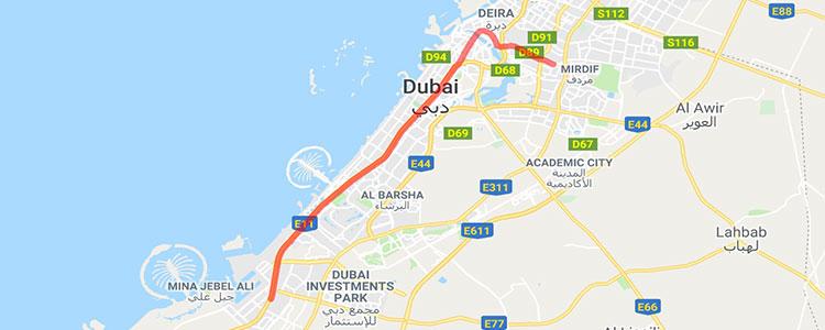 Red line Dubai 2