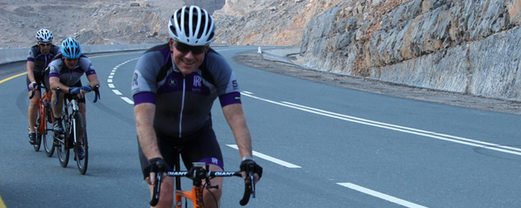 Cycling at Jebel Hafeet