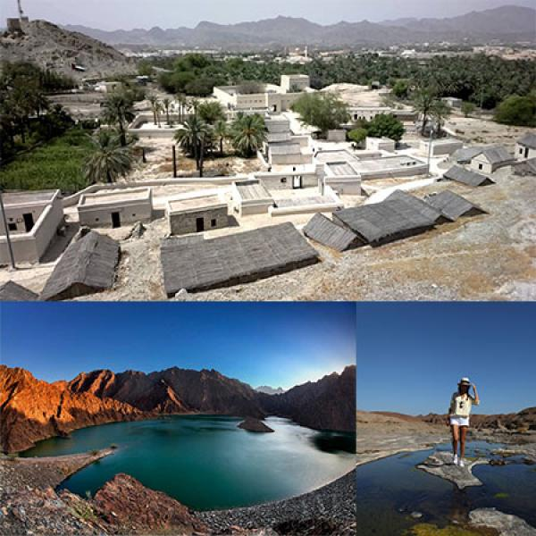 Hajjar Mountains, Hatta Village Tour