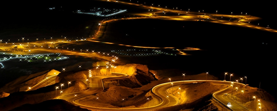 Jebel Hafeet Night view