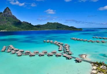 Beautiful view of Bora Bora